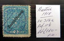 AUSTRIA 1918 Cat £180 As Described NC616