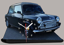 MODEL CARS, AUSTIN COOPER -03, car passenger,11,8x 7,8 inches  with Clock