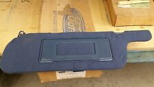 OEM Ford Driver Side Sun Visor w/ Lighted Mirror , one wire. V01487