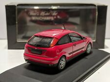 Ford Focus Mk1 Red 1/43 MINICHAMPS Rare