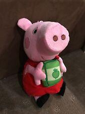 Peppa Pig Plush - Peppa Large 26cm -  Doll Toy - Genuine BNWT
