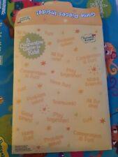Peaceable Kingdom Envelope pouch replacement Part Piece Board Game Original