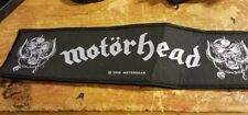 MOTORHEAD PATCH NEW  RARE COLLECTABLE WOVEN ENGLISH IMPORT  SUPER STRIP