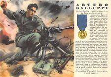 6095) WW2 GRECIA M.O. GALLUPPI DA BOLOGNA 72 LEGIONE CAMICE NERE.
