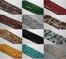 "16"" STRAND SEMI PRECIOUS GEMSTONE ROUND CRYSTAL BEADS  8mm (45 TO 50 beads)"
