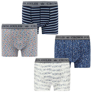 Joules Mens Crown Joules Boxer Briefs 2 Pack