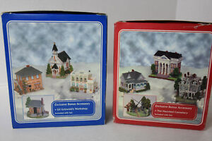 2001 Liberty Falls Collection - Pick em- Red box or Blue box or both
