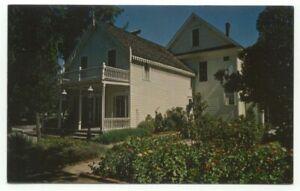 Oroville CA Judge C.F. Lott Home Postcard - California