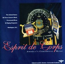 United States Air Force Band - Esprit de Corps [New CD]