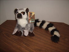 """New RING TAILED LEMUR PLUSH Fiesta 9"""" Tall 24"""" Long NEW with TAGS"""