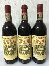 Lotto 3 Bottiglie Chianti Montalbano Capezzana 1980