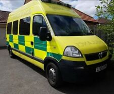 Vauxhall Movano HDU Event Ambulance Motorcycle Transporter Camper Van Conversion