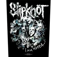OFFICIAL LICENSED - SLIPKNOT - I AM HATED SEW ON BACK PATCH METAL COREY