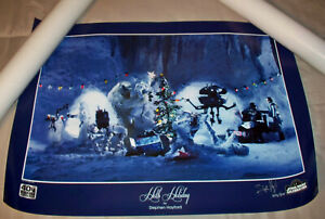 Star Wars Celebration Anaheim 2020 Stephen Hayford Hoth Holiday Print - #14/300