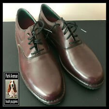 """NEW Hush Puppies Park Avenue brown leather oxfords size 13N """"The Body Shoe"""""""
