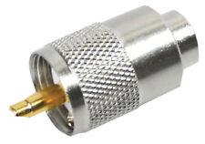 CB AM RADIO CONNETTORE 2 x PL259 TEFLON & GOLD Tip 6mm Resistente alla temperatura