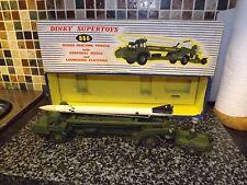 Dinky Toys 666 misiles Erector vehículo Corporal misil Vn/menta en caja no2