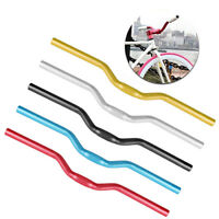 52cm 25.4mm Riser Bar For Fixed Gear MTB Bike Bicycle Aluminum Alloy Handlebar
