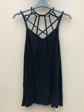 American Eagle Outfitters Grey Spaghetti Strap Vest Top. Size Large. NEW w/ Tags