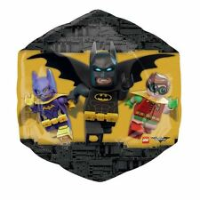 LEGO Batman SuperShape XL Foil Balloon DC Childrens Birthday Party Decorations