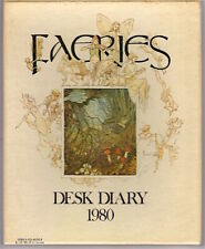 FAERIES DESK DIARY 1980 • Brian Froud, Alan Lee Art • MIB • Scarce
