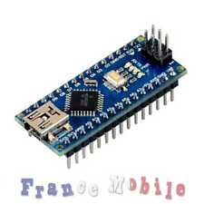 Carte Nano compatible ARDUINO V3.0 ATmega328p 16M 5V USB CH340G Livré Soudé V3