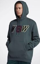 NEW Sz LG Nike NSW Sportswear Green Loose Fit Fleece Hoodie 943573-303 $100