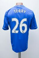 CHELSEA 2012/2013 # 26 TERRY HOME FOOTBALL SHIRT JERSEY ADIDAS SIZE M ADULT