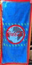 towel serviette de plage vintage COCA COLA bleue - 75 x 150 cm