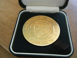 PORSCHE CLUB GB ZANDVOORT RACING BARRIE WILLIAMS BFGOODRICH 1ST MEDAL 1990 911