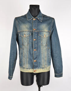 Zara Jeans Men Jacket Size L, Genuine