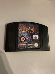 Turok 2 Seeds Of Evil NINTENDO 64 VIDEO GAME CARTRIDGE ONLY