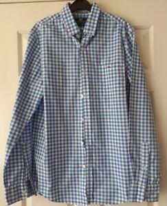 Mens Vineyard Vines Blue/white Checked Shirt Size Small