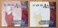 2 Vocal Artistry training series Cds Strength & Freedom for Women by Tim Carson