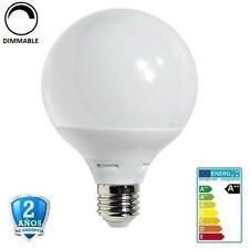 Bombilla LED E27 12W G95 1050lm Apertura 270º-Regulable (Dimmable)