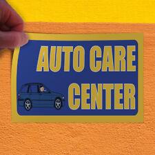Decal Sticker Auto Care Center Automotive Auto care center Outdoor Store Sign