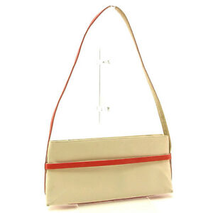 Bally Shoulder bag White Red Woman Authentic Used Y3029