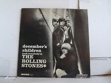 """THE ROLLING STONES DECEMBER'S CHILDREN"""" MONO LP LONDON LL 3451 FROM 1966      A"""