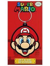 Super Mario gummi Schlüsselanhänger Keychain Porte Cles NEU NEW