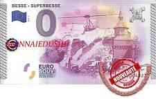Billet Touristique 0 Euro 2015 - Besse Superbesse