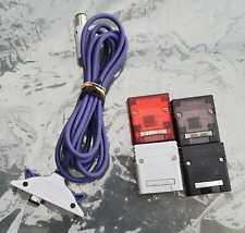 Nintendo GameCube GameBoy Advance - Linkkabel (DOL-011) + 4 Memory Card