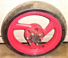 '95 98 97 96 94 93 92 91 FZR600 FZR 600 REAR WHEEL TIRE DAMPERS RED YAMAHA