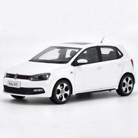 1/18 Scale VW Volkswagen POLO GTI 2013 White Diecast Car Model Toy Collection