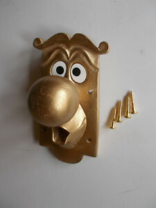 ALICE IN WONDERLAND USED FIXING DOOR KNOB CHARACTER with fixing screws