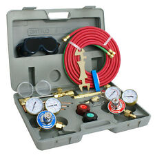 Gas Welding &Cutting Kit Harris Type Acetylene Oxygen Torch Set Welder Regulator
