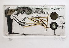 Zush Evru-sin título VI. autografiado y numerada aguafuerte.