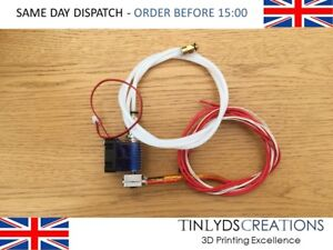 J-Head Hotend + Fan + Tube - V6 Bowden Extruder - 1.75mm , 3D printer part....