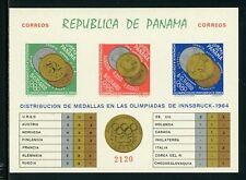Panama Scott #456Jk IMP MNH S/S OLYMPICS 1964 Innsbruck CV$17+