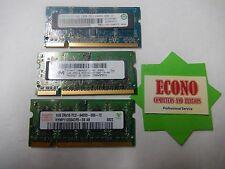 3GB (3x1GB) DDR2 PC2-6400S Memory RAM Laptop