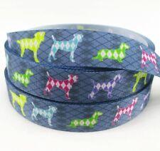 Ripsband 23mm Hunde